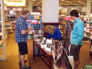 Very enthusiastic reader of books on wolves! Spirit Wolves that is.